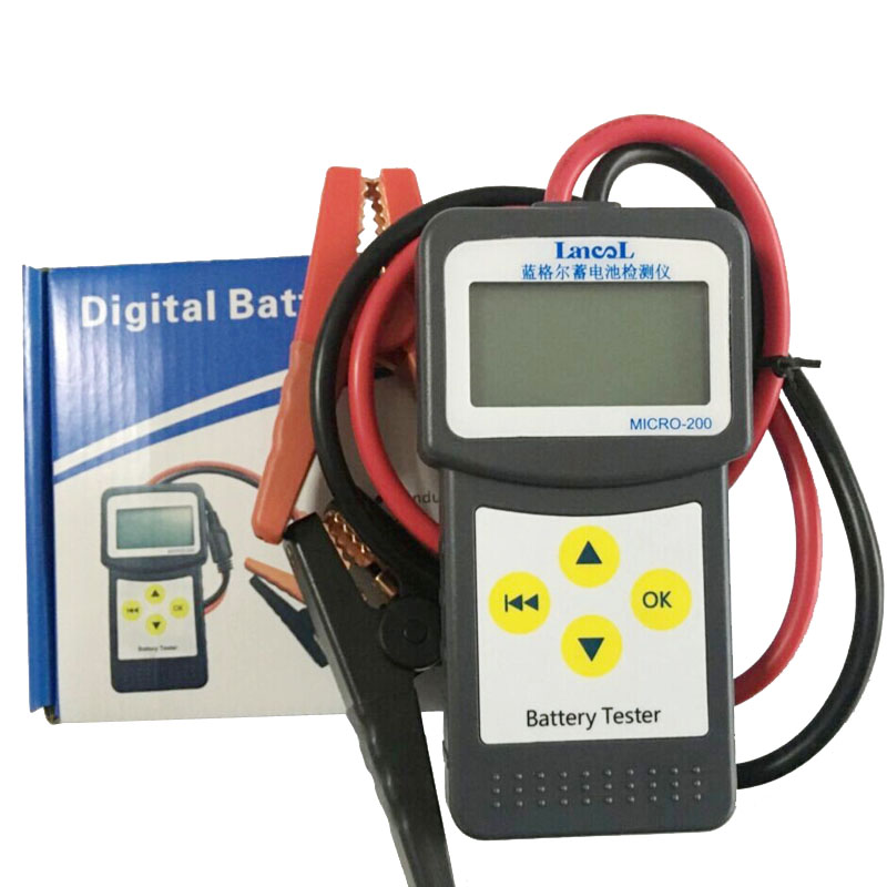 Multi-language version MICRO-200 Car Battery Conductance Tester